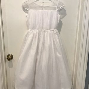 Us angels white tulle dress